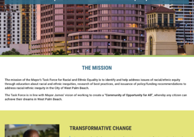 West Palm Beach Racial & Ethnic Equality Task Force Website